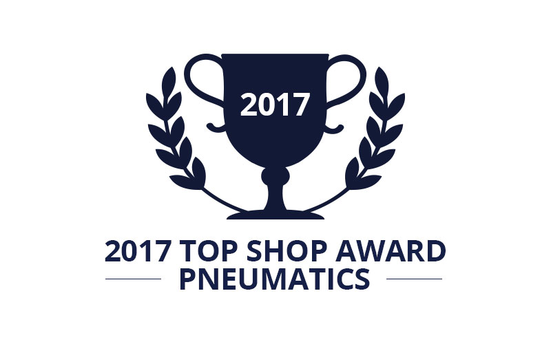 Top Shop Award Pneumatics