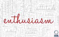 "Red words ""Enthusiasm"""