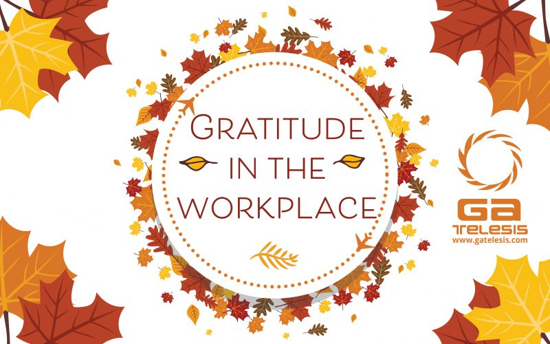 Gratitude in the Workplace // by Meghan Burgan