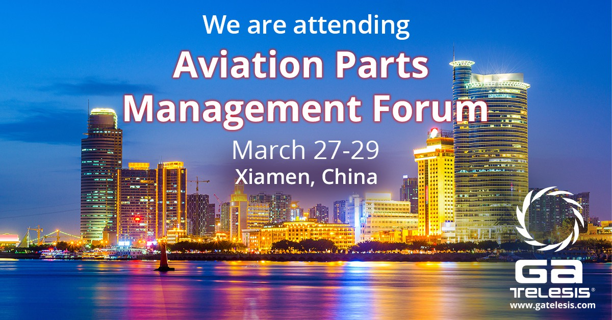 GA Telesis will be at the Aviation Parts Management Forum 2019.