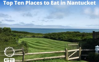 restaurants in Nantucket