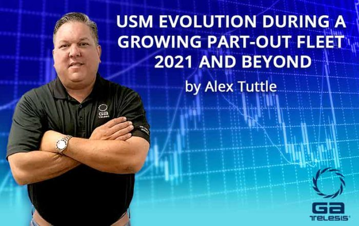 USM Evolution During a Growing Part-Out Fleet 2021 and Beyond